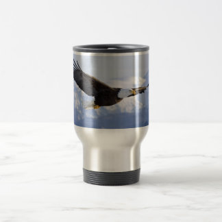 Eagle Soaring Travel Mug