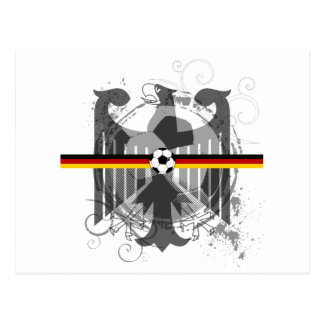 Eagle soccer German fans gifts and T-shirts Post Cards