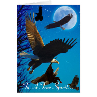 EAGLE SPIRIT Collection Greeting Card