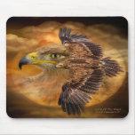 Eagle-Spirit Of The Wind Art Mousepad
