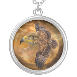 Eagle-Spirit Of The Wind Wearable Art Necklace