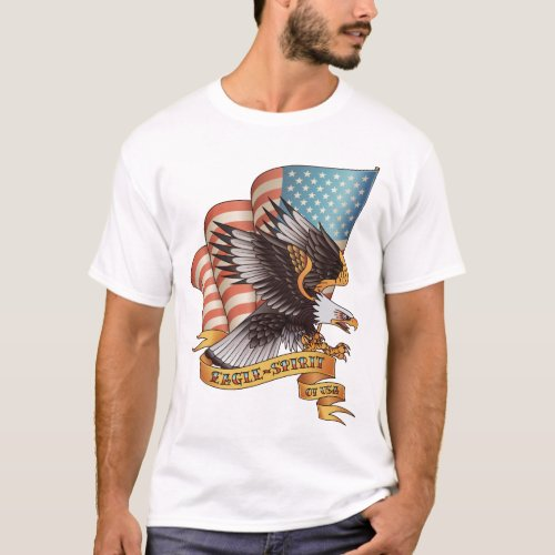 Eagle Spirit of USA T_Shirt