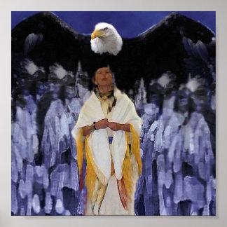 eagle spirit warrior poster
