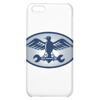 eagle spread wing carrying spanner cover for iPhone 5C