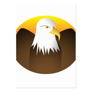 Eagle Spreading Wings Sunset Large Business Cards (Pack Of 100)