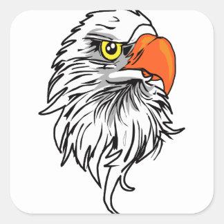 Eagle Square Sticker