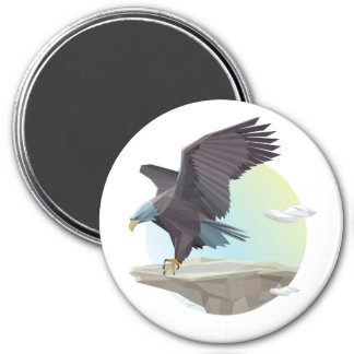 Eagle stand magnet