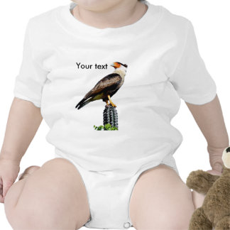 Eagle standing on a cactus romper