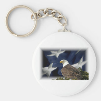 Eagle Star Keychain