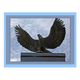 Eagle Statue Postcard