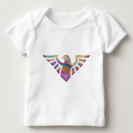 Eagle Stencil Silhouette 15 Baby T-Shirt