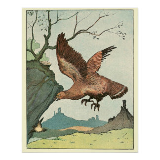 Eagle Story Book Animal Perfect Poster