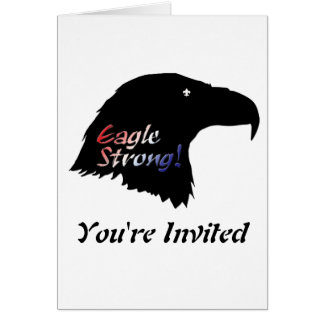 Eagle Strong Court of Honor Invitation