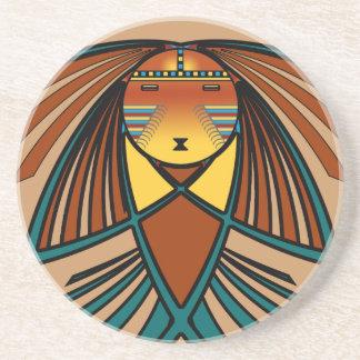 Eagle Sun Drink Coaster