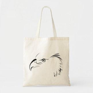 Eagle Symbol Tote Bag