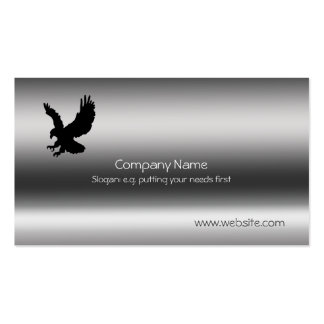 Eagle, Talons outstretched Metallic-effect Business Card