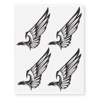 eagle temporary tattoo