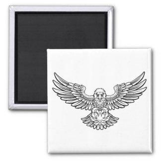 Eagle Tennis Sports Mascot Magnet