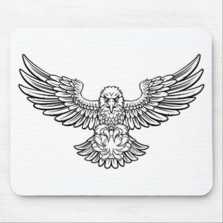 Eagle Tennis Sports Mascot Mouse Pad