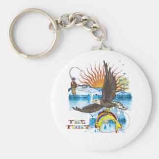 Eagle-Thief-3 Keychain
