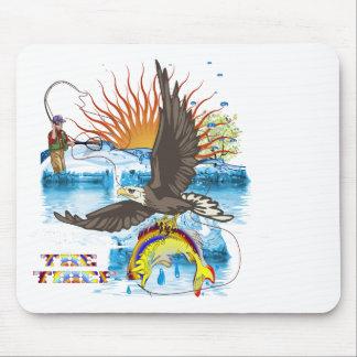 Eagle-Thief-3 Mouse Pad