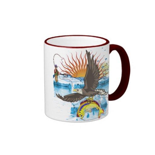 Eagle-Thief-3-No-Text Coffee Mug