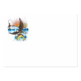 Eagle-Thief-3-No-Text Large Business Card