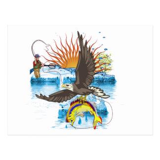 Eagle-Thief-3-No-Text Postcard