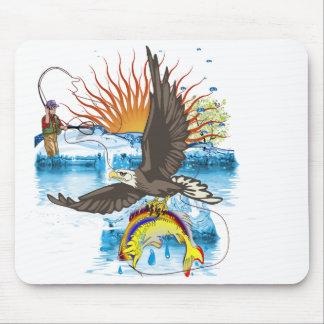 Eagle-Thief-3-No-Text Alfombrillas De Ratón