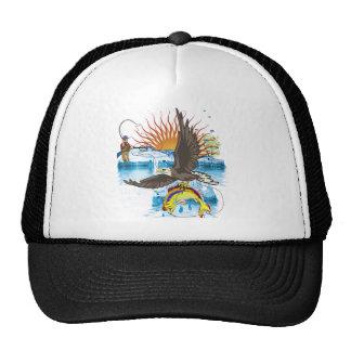 Eagle-Thief-3-No-Text Trucker Hat