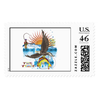 Eagle-Thief-3 Postage Stamps