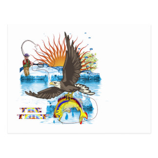 Eagle-Thief-3 Postcard