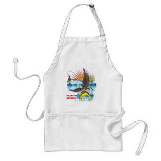 Eagle-Thief-3-Text-2 Adult Apron