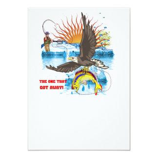 Eagle-Thief-3-Text-2 5x7 Paper Invitation Card