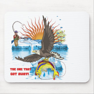 Eagle-Thief-3-Text-2 Mouse Pad