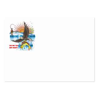 Eagle-Thief-3-Text-2 Tarjetas De Visita Grandes