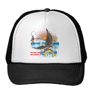 Eagle-Thief-3-Text-2 Trucker Hat