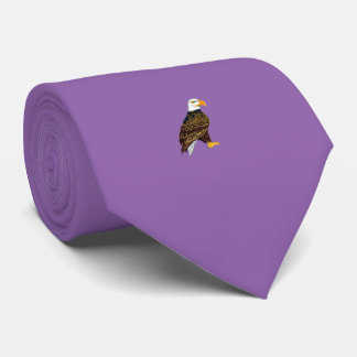 Eagle Tie Purple