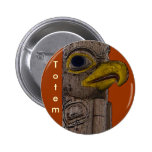 EAGLE TOTEM Collection Pinback Button