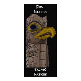 EAGLE TOTEM Collection Rack Card