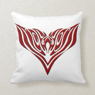 Eagle Black Red Tribal Tattoo Gifts On Zazzle