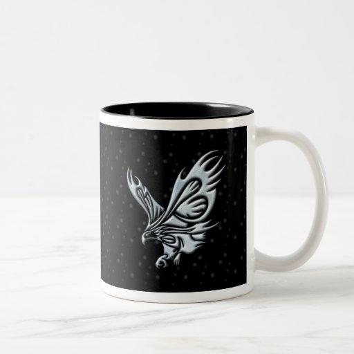 Eagle tribal taza de café