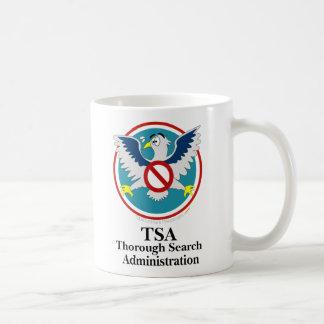 Eagle TSA Funny Cartoon (Touch My Junk) Classic White Coffee Mug