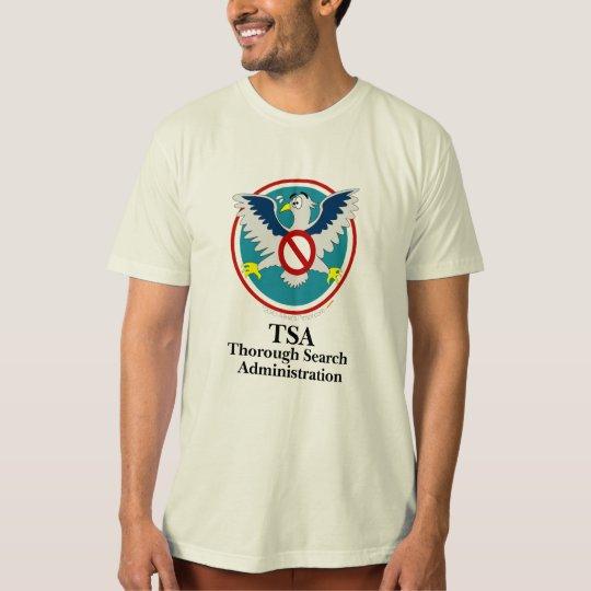 Eagle TSA Funny Cartoon (Touch My Junk) T-Shirt