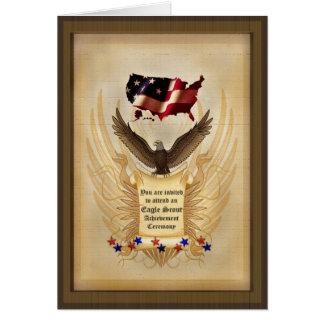 Eagle - USA - Achievement - Award - Invitation Cards
