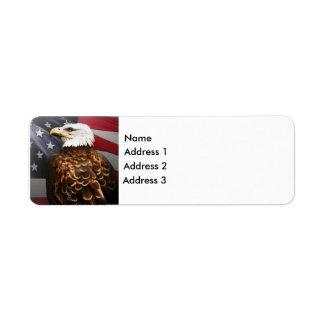 Eagle-USA, Address 2, Address 3, Address 1, Name Label
