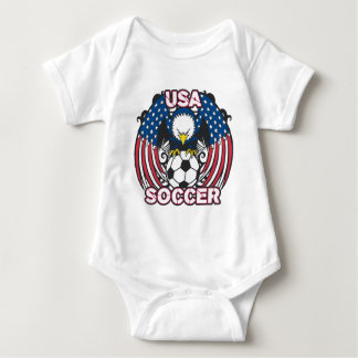 Eagle USA Soccer Baby Bodysuit