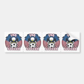 Eagle USA Soccer Bumper Sticker