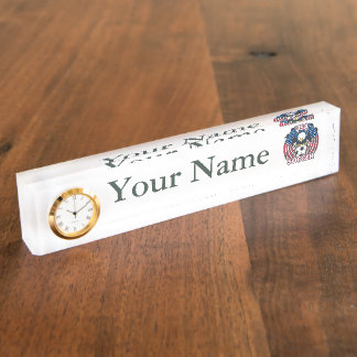 Eagle USA Soccer Desk Name Plates