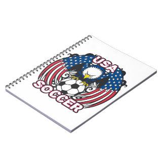 Eagle USA Soccer Notebooks